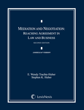 Mediation and Negotiation book jacket