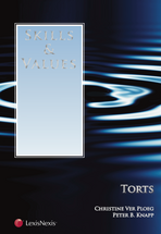 Skills & Values: Torts book jacket