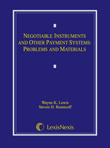 Negotiable Instruments and Other Payment Systems book jacket