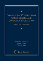 Commercial Contracting book jacket