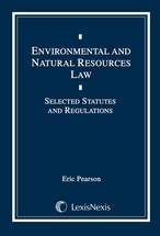 Environmental and Natural Resources Law Document Supplement book jacket