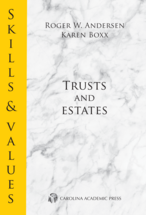 Skills & Values: Trusts and Estates book jacket