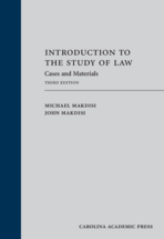 Introduction to the Study of Law book jacket