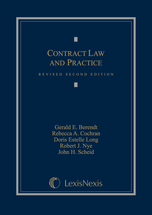 Contract Law and Practice, Revised book jacket