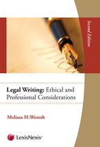 Legal Writing book jacket