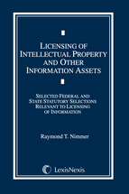 Licensing of Intellectual Property and Other Information Assets Document Supplement book jacket