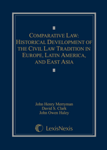 Comparative Law book jacket