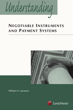 Understanding Negotiable Instruments and Payment Systems book jacket
