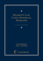 Disability Law book jacket