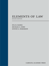 Elements of Law book jacket