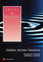 Skills & Values: Federal Income Taxation book jacket