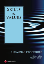 Skills & Values: Criminal Procedure book jacket