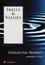 Skills & Values: Intellectual Property book jacket