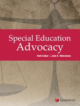Special Education Advocacy book jacket