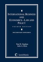 International Business and Economics Document Supplement book jacket