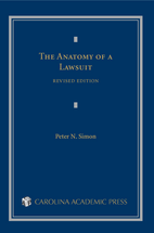 The Anatomy of a Lawsuit, Revised Edition