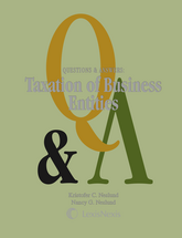 Questions & Answers: Taxation of Business Entities book jacket