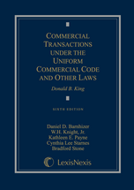 Commercial Transactions Under the Uniform Commercial Code and Other Laws book jacket