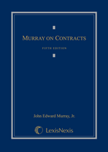 Murray on Contracts book jacket