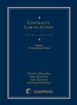Contracts: Law in Action, 2-Volume Set book jacket