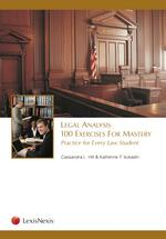 Legal Analysis book jacket