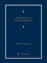 Mergers and Acquisitions Law book jacket
