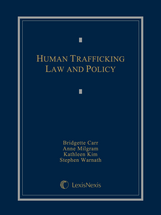 Human Trafficking Law and Policy book jacket