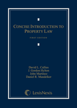 Concise Introduction to Property Law book jacket