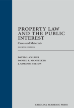 Property Law and the Public Interest book jacket