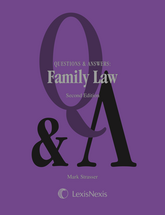 Questions & Answers: Family Law book jacket