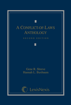 A Conflict of Laws Anthology book jacket