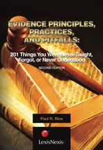 Evidence Principles, Practices, and Pitfalls book jacket