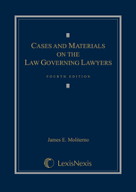 Cases and Materials on the Law Governing Lawyers book jacket