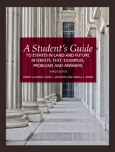 A Student's Guide to Estates in Land and Future Interests book jacket