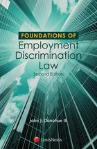 Foundations of Employment Discrimination Law book jacket