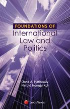 Foundations of International Law and Politics book jacket