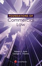 Foundations of Commercial Law book jacket