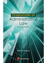 Foundations of Administrative Law book jacket