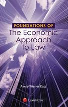 Foundations of the Economic Approach to Law book jacket