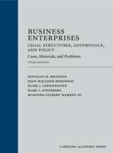 Business Enterprises—Legal Structures, Governance, and Policy book jacket