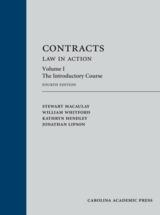 Contracts: Law in Action, Volume 1 book jacket