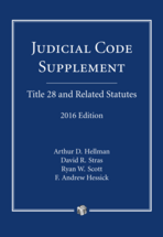 Judicial Code Supplement book jacket