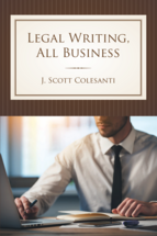 Legal Writing, All Business book jacket