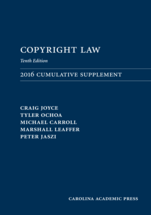 Copyright Law Document Supplement book jacket