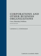 Corporations and Other Business Organizations book jacket