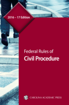 Federal Rules of Civil Procedure book jacket