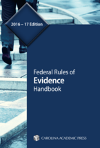 Federal Rules of Evidence Handbook book jacket