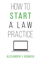 How to Start a Law Practice book jacket