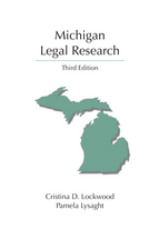 Michigan Legal Research book jacket