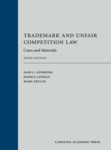 Trademark and Unfair Competition Law book jacket